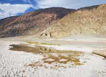 Badwater Basin, Death Valley Stock Photos
