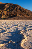 Badwater Basin Death Valley National Park Royalty Free Stock Images