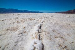 Badwater Basin 1 Royalty Free Stock Images