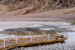 Badwater Basin in Death Valley National Park, California Royalty Free Stock Photography