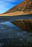 Badwater Basin in Death Valley National Park Royalty Free Stock Photos