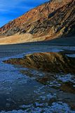 Badwater Basin in Death Valley National Park Stock Photography