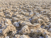 Badwater Basin in Death Valley. Nevada USA Stock Images