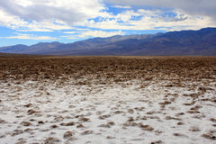 Badwater Basin, Death Valley, USA Royalty Free Stock Images