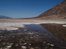 Badwater Basin in Death Valley Royalty Free Stock Photography