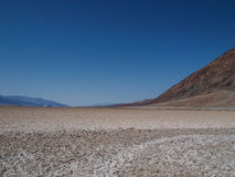 Badwater Basin in Death Valley Royalty Free Stock Image