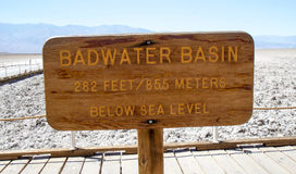 Badwater Basin Stock Images