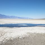 Badwater Basin In Death Valley. Stock Photos