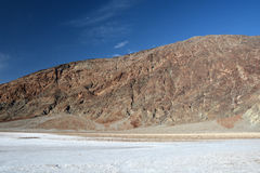 Badwater Basin is the the lowest point in North America Stock Images