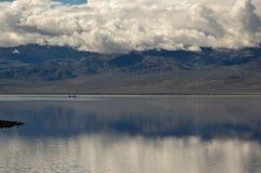 Badwater Canoeing Fotografia Stock