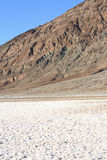 Badwater dans Death Valley, la Californie Image libre de droits