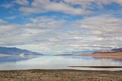 Badwater, de Vallei van de Dood Stock Foto's