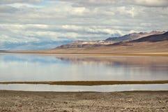 Badwater, de Vallei van de Dood Stock Foto