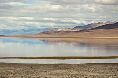 Badwater, Death Valley Stock Photo