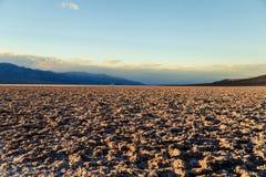 Badwater - Death Valley Royaltyfria Bilder