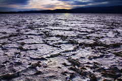 Badwater, Death Valley Image stock
