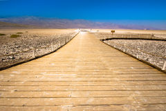 Badwater Death Valley California Royalty Free Stock Photos