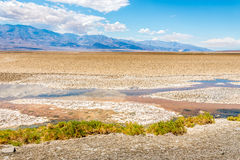 Badwater in Death Valley Royalty Free Stock Photo