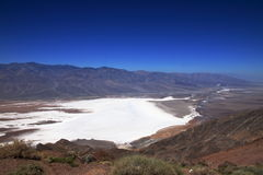 Badwater - Death Valley - California Imagenes de archivo