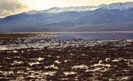 Badwater Death Valley National Park Royalty Free Stock Images