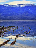 Badwater Death Valley National Park California Royalty Free Stock Photos