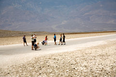 Badwater, deepest point in the USA, Royalty Free Stock Image