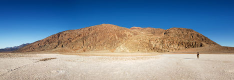 Badwater panorama Stock Photography