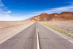Badwater Parkway Badwater Basin Death Valley NP US Royalty Free Stock Images