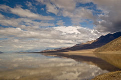Badwater Reflection Royalty Free Stock Photo