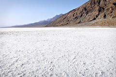 Badwater Salt Pans Stock Photography