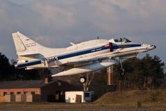 BAe Systeme A-4 Skyhawk Stockfotografie