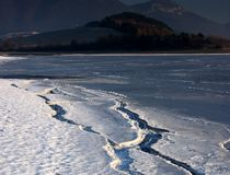 baeach χειμώνας Στοκ φωτογραφία με δικαίωμα ελεύθερης χρήσης