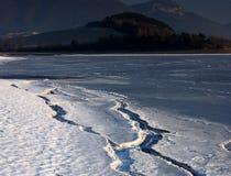 Baeach del invierno foto de archivo libre de regalías