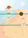 Baeach volleyball Stock Photo
