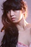 Baeauty亚裔年轻女性 库存照片