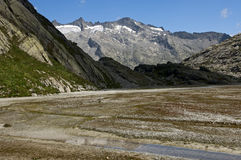 Baechlital valley,Bernese Alps, Switzerland Royalty Free Stock Photography