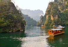 Baefong jezioro zdjęcie stock