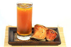 Bael汁液 免版税图库摄影