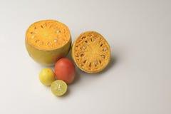 Bael-Frucht Stockfoto