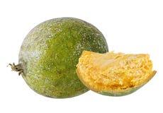 Bael-Frucht- oder hölzerneapfelfrucht Lizenzfreie Stockfotografie