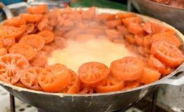 Bael (marmelos de Aegle) Imagen de archivo