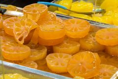 Bael wax fruit Stock Images