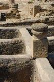 baelo克劳迪亚罗马废墟 库存照片