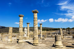 Baelo Claudia an ancient Roman town. TARIFA, SPAIN - SEPTEMBER 25, 2016:  Ruins of Baelo Claudia is an ancient Roman town situated on the Costa de la Luz, some Stock Photos