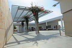 Baelo Claudia gościa centrum w Tarifa, prowincja CÃ ¡ diz, Hiszpania obraz stock