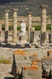 Baelo Claudia römische Ruinen lizenzfreie stockbilder