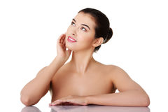 Baeutiful young woman Royalty Free Stock Images