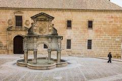 Baeza, Andalousie, province de Jaén, Espagne - Unive international photo stock