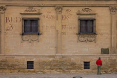 Baeza Andalusia, landskap av Jaén, Spanien - internationella Unive Arkivfoton