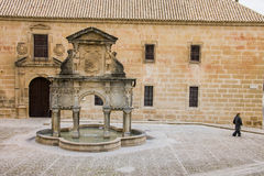 Baeza, Andalusia, province of Jaén, Spain - International University of Andalusia stock photo